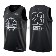 Maillot NBA Pas Cher Golden State Warriors Draymond Green 23# Black 2018 All Star Game Swingman..